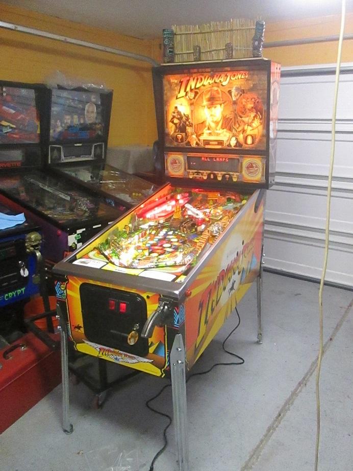 Indiana Jones Machine with Cool Mods! | Firebird Pinball
