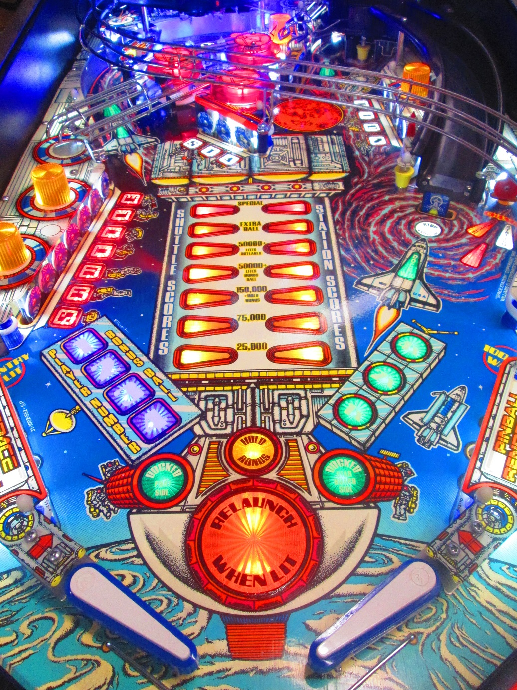 Space Station is Out of This World! | Firebird Pinball ...
