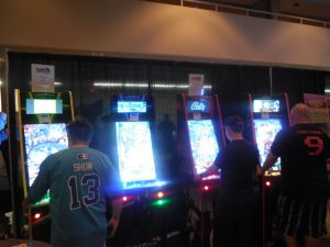 Fans also raved about these upright video pinball games. They sold out before the weekend was even finished!