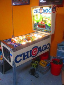Chicago sports and pinball have a long history.