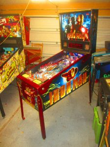 We gave it a full shop job, installing updated LEDs throughout. We pulled everything off the playfield, to be tumbled, buffed, polished, washed, or otherwise cleaned.