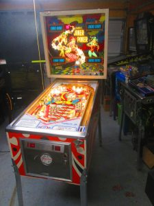 Gottlieb came out with Joker Poker in 1978, and produced 9,280 of the machines. (IPDB)