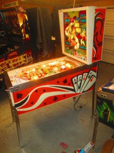 Gottlieb also produced an electro-mechanical version of Joker Poker, producing around 820 machines of that model.