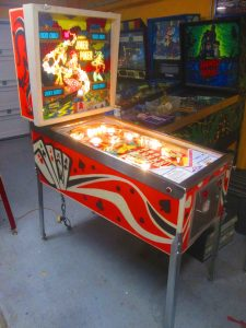 We gave ours a full shop job, pulling everything off the playfield to be washed, polished, buffed, tumbled, or otherwise cleaned.