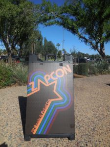 ZapCon began bright and early on Saturday at the Mesa Convention Center, 263 N. Center St.