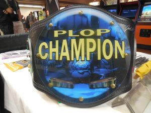 This was the trophy for the winner of the Pinball League of Phoenix, a selfie league that's operating in the East Valley. They custom made this for their championship on Saturday!