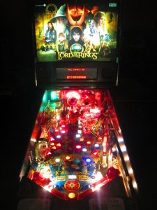 We gave this machine a full shop job, tearing everything off the playfield to be tumbled, buffed, washed, polished, or otherwise cleaned.