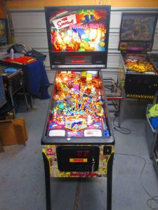 Stern came out with The Simpsons Pinball Party in 2003, and went on to produce around 4,000 machines. (IPDB)