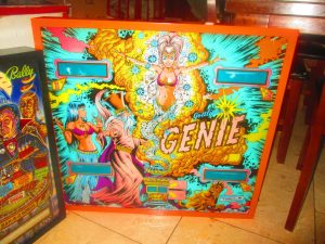 Here's Genie looking great in its new frame!