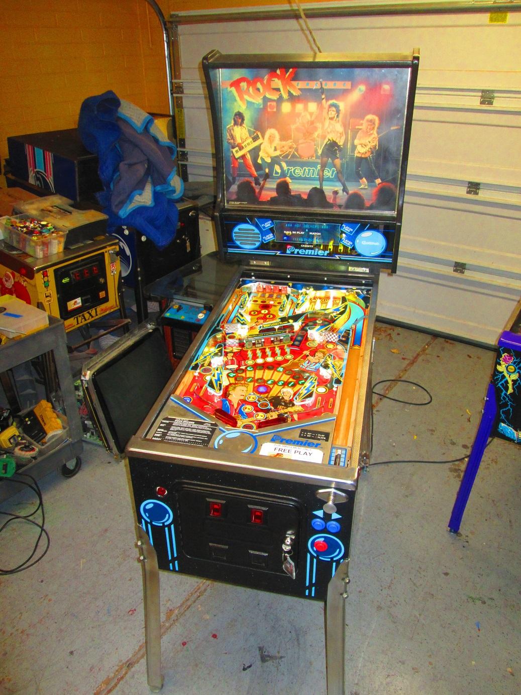 This Game Rocks!   Firebird Pinball - Phoenix Arizona
