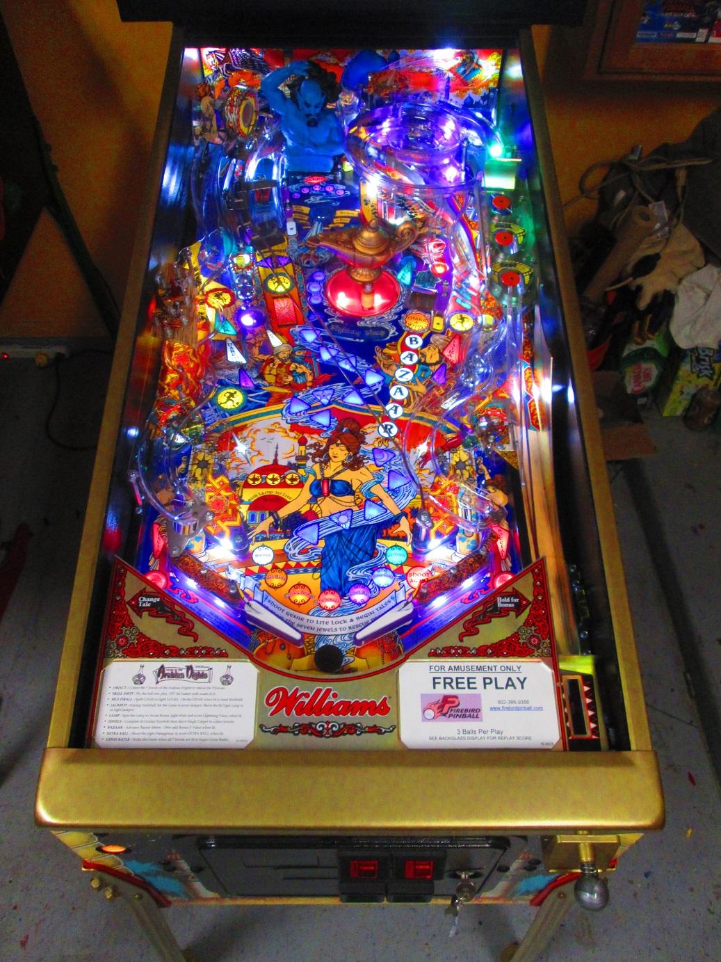Firebird Pinball - Phoenix Arizona Pinball Repair